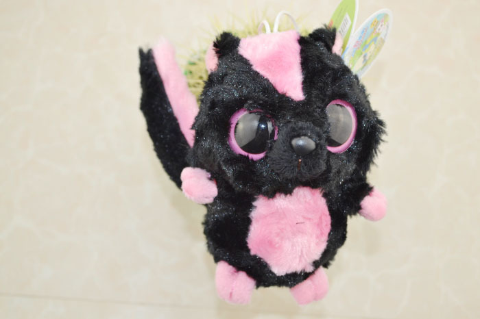 "Classic Toys,Firby Educational Kindergarten Doll,Yoohoo&Friends Big Eye Cute Plush Toy Sparkee-8"",Good Quality,Free shipping(China (Mainland))"