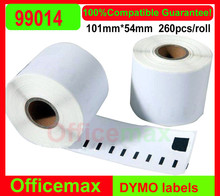 150 x Rolls Dymo Compatible Labels 99014,101mm x 54mm,220 Labels Per Roll