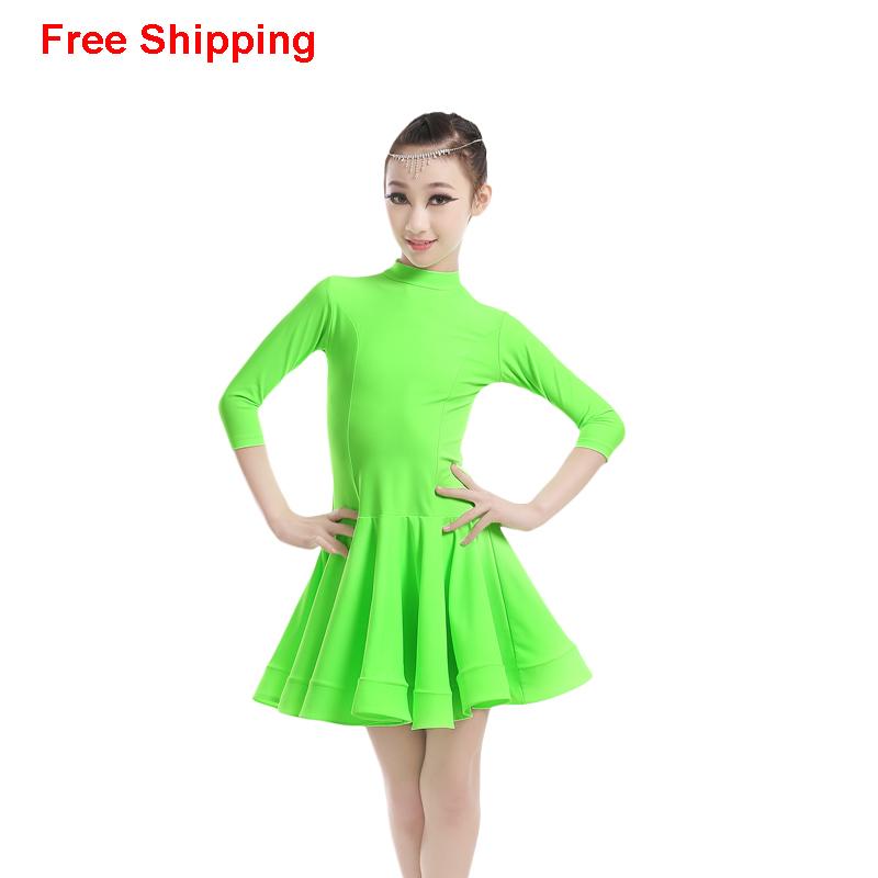 Achetez en gros enfant latine danse robe en ligne des - Nom de danse de salon ...
