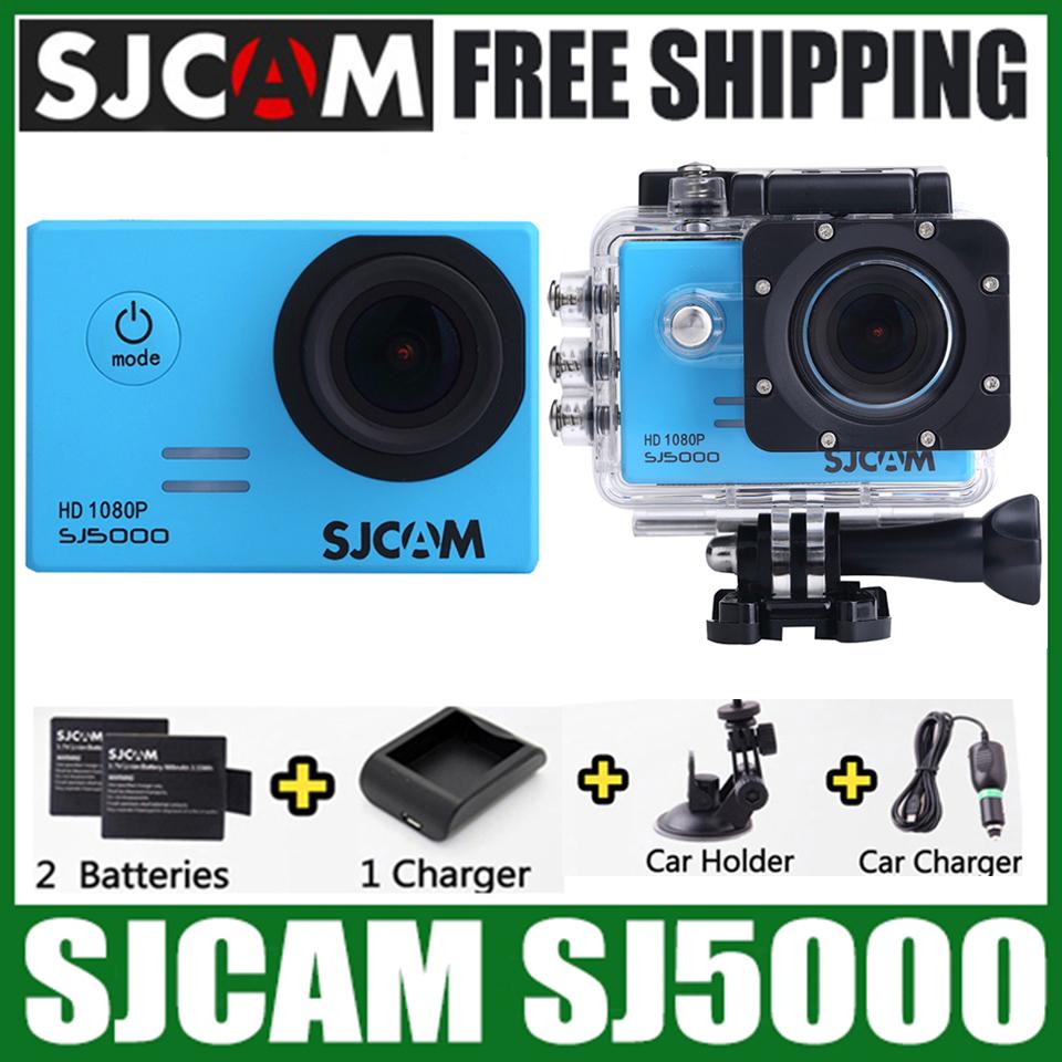 "Original SJCAM SJ5000 14MP 2.0"" LCD HD 1080P Waterproof Action Camera 170 Degree Wide Lens Sports DV DVR FPV Action Camcorder(China (Mainland))"