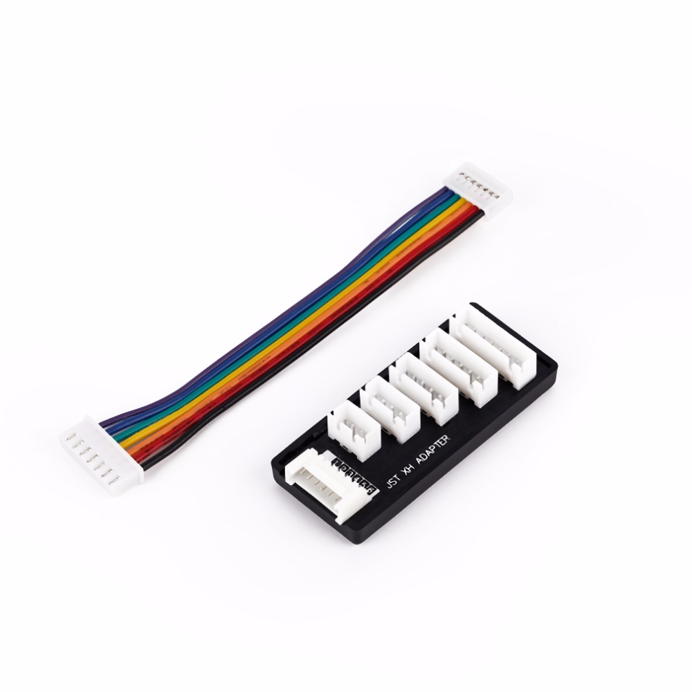 IMAX B6 B8 B6AC A6 Charger For 2S-6S RC Lipo Battery Charging JST XH Balance Charging Adapter Expansion Board Black D3(China (Mainland))