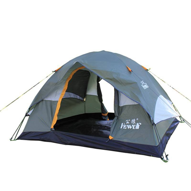 Hot selling camping tent 4 person Outdoor Camping Tent Camping Hiking Fishing Hunting Expedition For A Picnic 1800(China (Mainland))