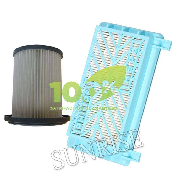 1 Piece Replacement Filter & HEPA Filter for Philips FC8732 FC8716 FC8720 8724 FC8740 Vacuum Cleaner Filter(China (Mainland))