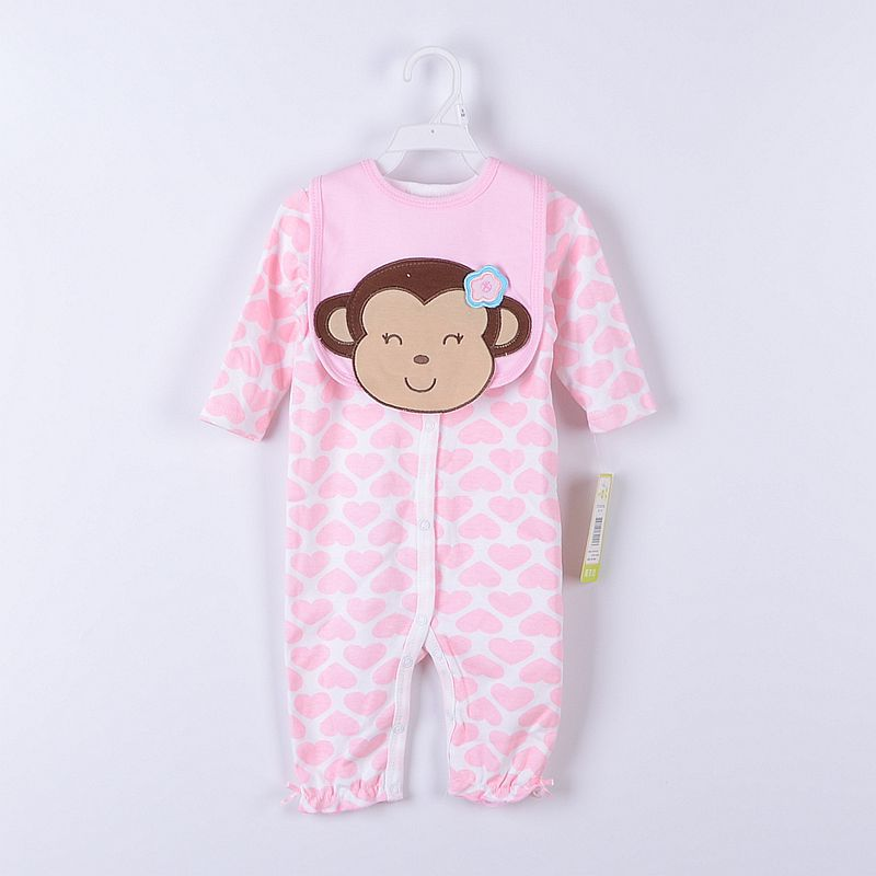 Baby Gear 2-pieces Suits Baby Bodysuits Bibs Socks PP Pants Clothing Sets Retail Top Quality(China (Mainland))