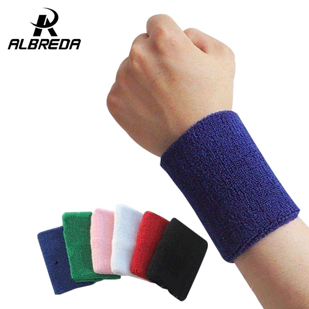 new sport cotton elastic bandage hand sport wristband gym support wrist brace wrap fitness tennis polsini sweat band munhequeira(China (Mainland))