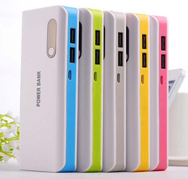 Dual USB 16800mah Power Bank Portable powerbank External Battery 18650 Mobile Phone Charger For Mobile Phone Backup