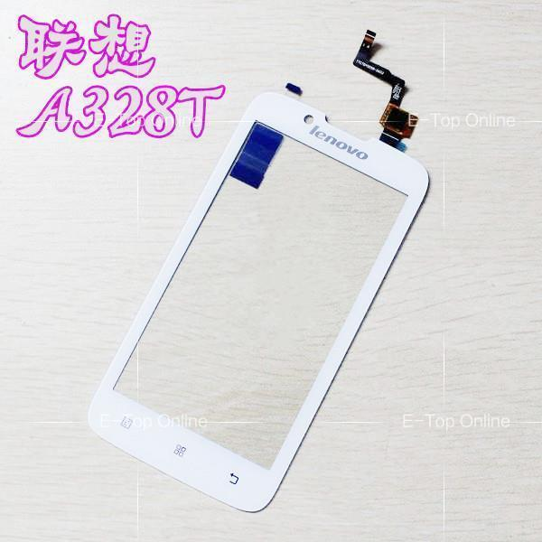 Black/White Screen For Lenovo A328 A328T Touch Screen Digitizer + 3M Sticker with free tracking