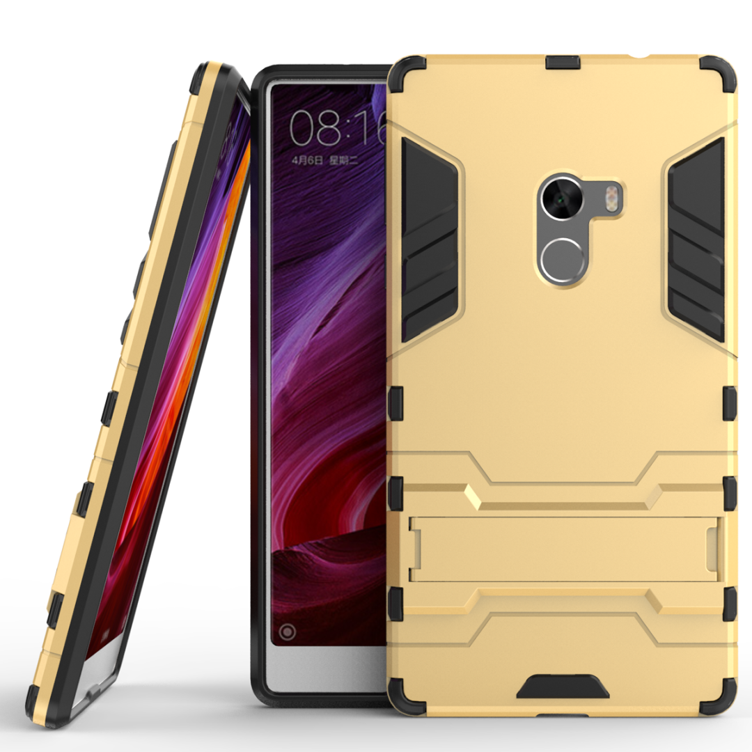 Shockproof Stand Hard Phone Cases for Xiaomi mi Mix 6.4 inch Case Armor Stand Phone Accessory