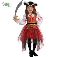 NEW Halloween girls dress Cosplay Assassin Costumes Kids Party Clothing Children's Movie Cosplay fantasias Kids Fancy dress