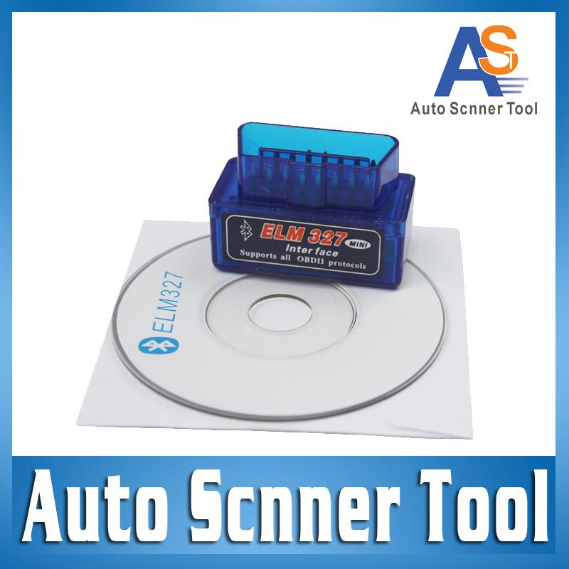 2015 Code reader Super mini ELM327 Bluetooth odb2 Scanner ELM 327 Bluetooth Smart Car Diagnostic interface ELM327 V2.1 Scan(China (Mainland))