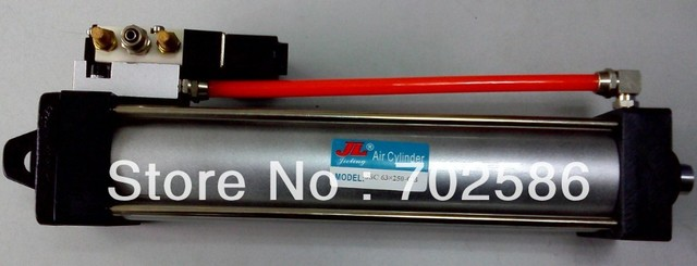 AIRTAC Type SC standard pneumatic cylinder 63mm bore used in the dust catcher field