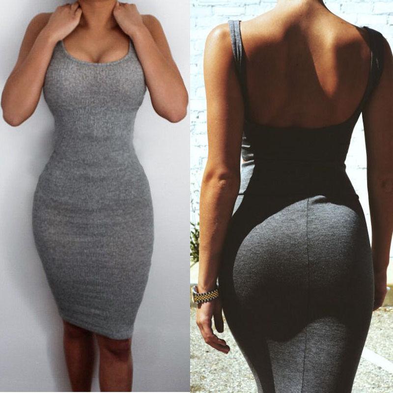 Sexy Women Summer Bandage Slim Bodycon Party Cocktail Split Mini Dress 2016Одежда и ак�е��уары<br><br><br>Aliexpress