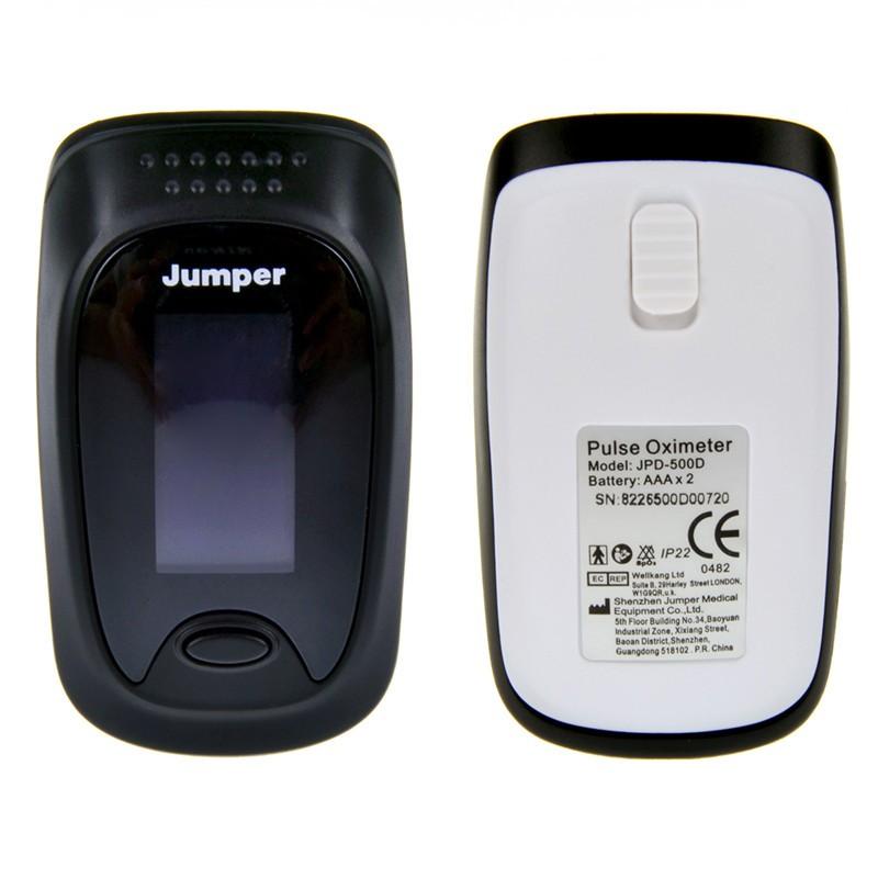 New Design Finger Pulse Oximeter Blood Oxygen Saturation Waveform Oximetro Monitor for Health Care