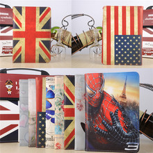 High Quality 360 Degree Rotating Print Stand PU Leather Case Cover For Apple iPad Mini 4 Ipad Mini4 7.9″ Tablet Case Cover