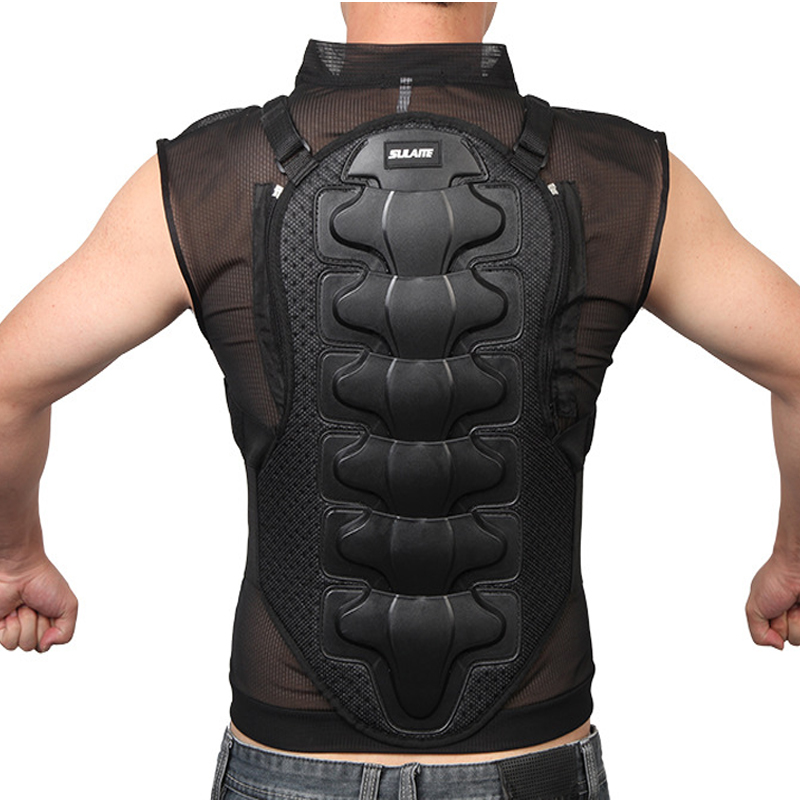 New High quality Racing Armour Motorcycle Body Protector Jacket Skiing Body Armor Spine Chest and Back Protective Gear(China (Mainland))