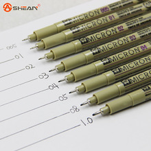 8 Kinds of Styles Portable Drawing Ultra Fine Line Pen Good Chemical Resistant High Quality Pen Painting 4pcs/lot