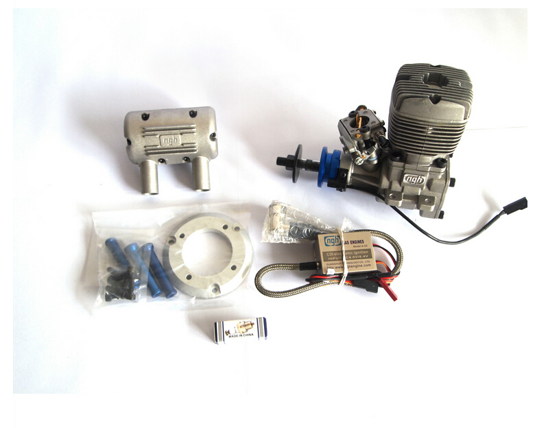 NGH 2 stroke engines NGH GT35 35cc 2 stroke gasoline engines petrol engines rc aircraft rc airplane two stroke 35cc engines(China (Mainland))
