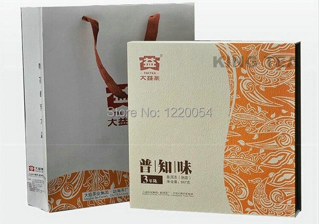 On sale Puer ripe tea 2013 TAE TEA Dayi 301-PU ZHI WEI 3 years old leaf shou  tea  357g  !<br><br>Aliexpress