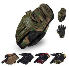 2016 New Mechanix Wear M-Pact Army Military Tactical Gloves Outdoor Paintball Shooting Full Finger Motocycel Bicycle Mittens(China (Mainland))