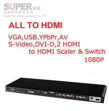 Buy LKV391N video HDMI converter 1080P Scale & Switch video converter VGA,USB,YPbPr,AV,S-Video,DVI-D,2 HDMI HDMI converter for $163.89 in AliExpress store