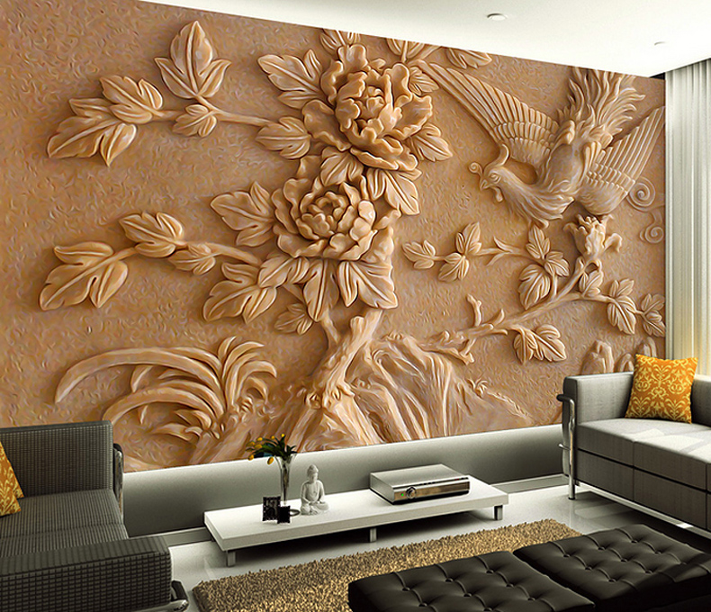 Custom 3d stereoscopic wallpaper 3d wall murals wallpaper for 3d mural wallpaper for bedroom
