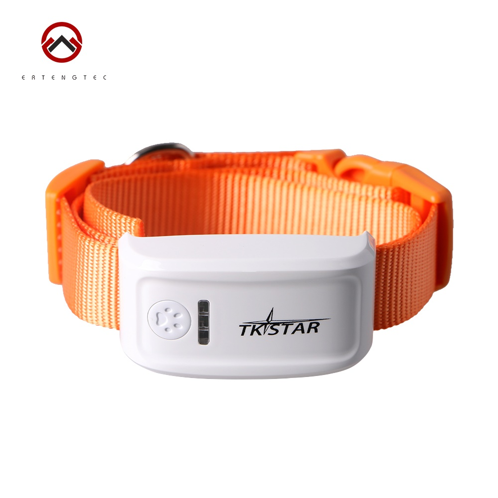 Mini Pet Dog GPS Tracker TK909 Tracking Device Waterproof 400hours Standby Time Colors Collar Free IOS Andriod App Web Tracking(China (Mainland))