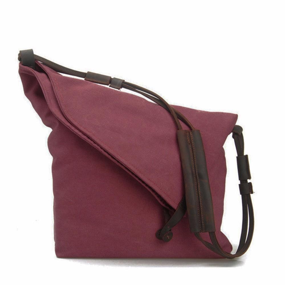 EcoCity Women Messenger Bags,Genuine Leather Canvas Desigual Bag