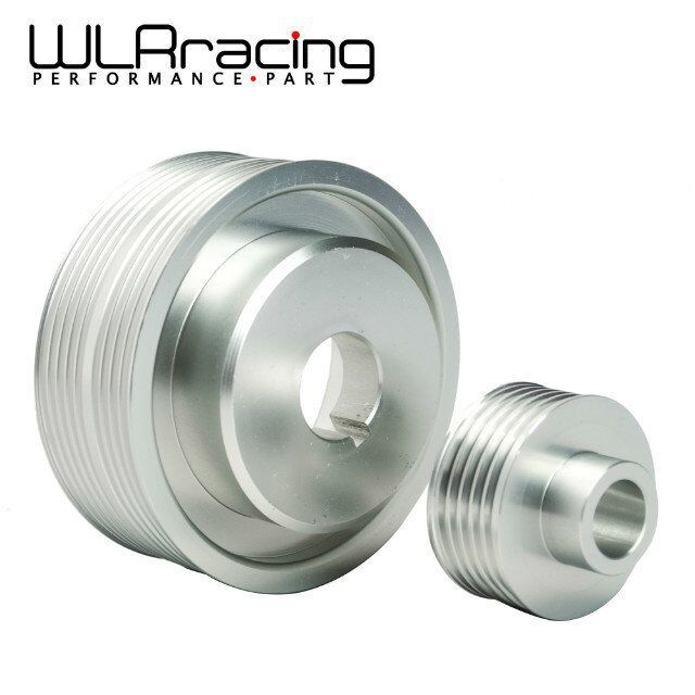 WLR STORE LIGHT WEIGHT CRANK PULLEY For Subaru IMPREZA WRX V 7 8 9 GDB GDA