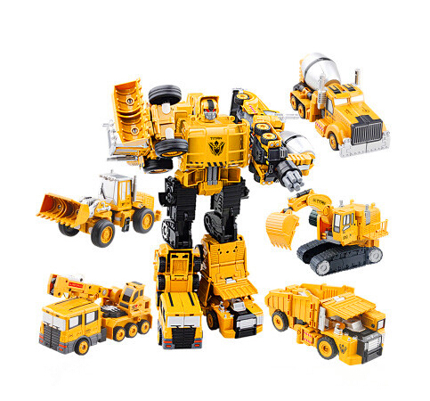Original High quality Alloy&ABS Deformation Robots Devastator 5 in 1 Big Combine Robot Toys Hercules for Boys Gift(China (Mainland))