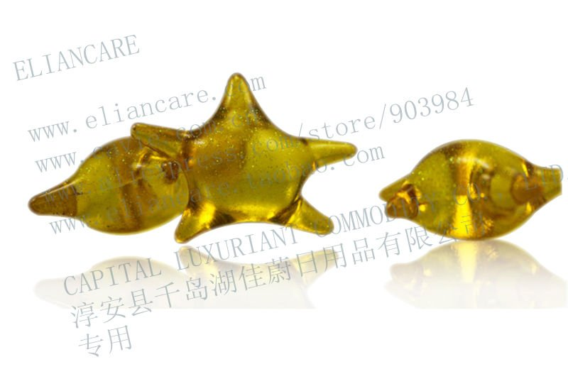4G SCENTED CLEAR STAR BATH BEADS(China (Mainland))
