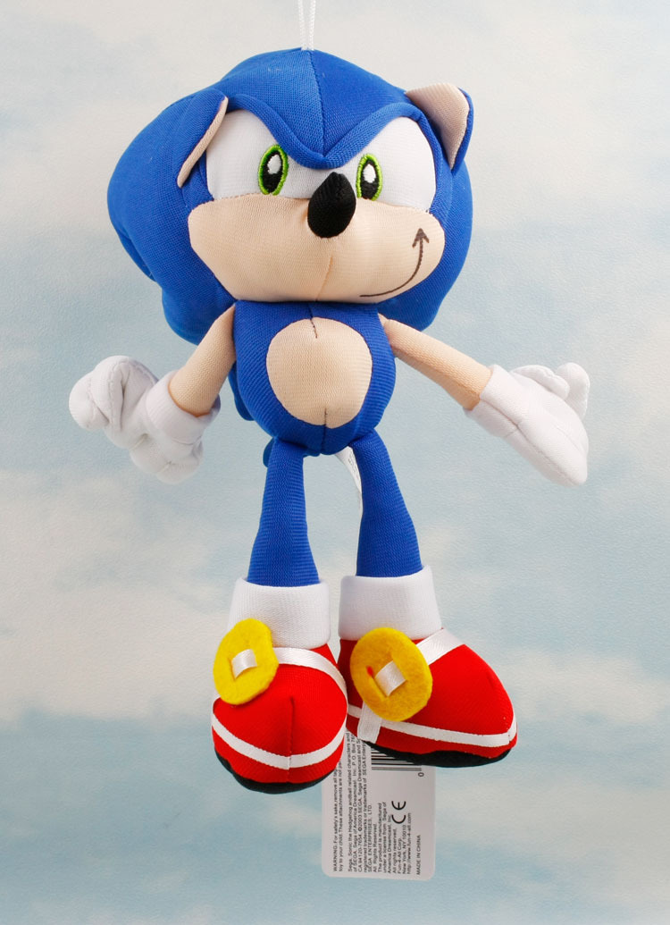 20cm Sonic the Hedgehog Stuffed Plush Doll Toy With Tag(China (Mainland))