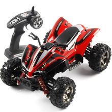 2.4G Remote Control 4WD RC Motorcycle High-speed 40KM / H Dirt Bike RC Drift 1:24 BG1510A(China (Mainland))