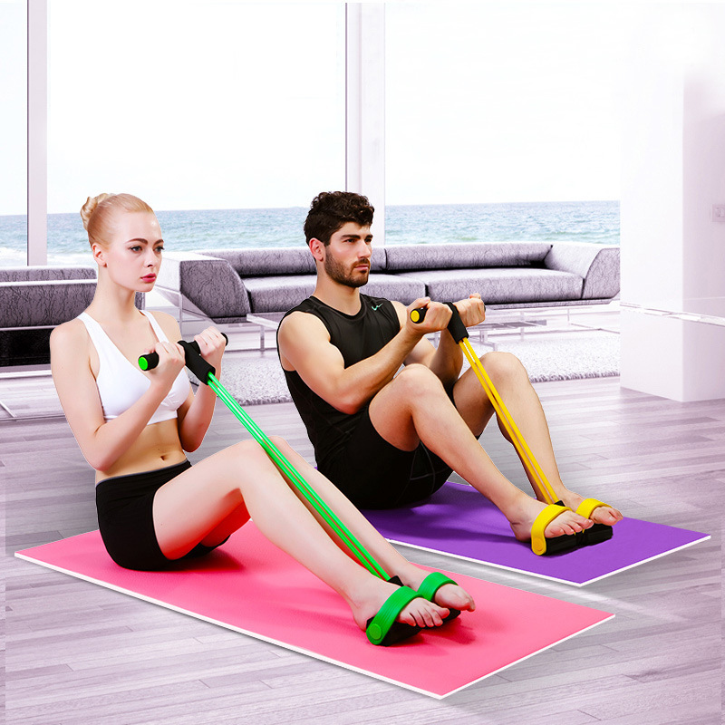 الساق الربيع التمارين البدنية مع مقبض المقاومة باند المقاومة التمارين تشمر لياقة الجسم المتقلب crossfit(China (Mainland))