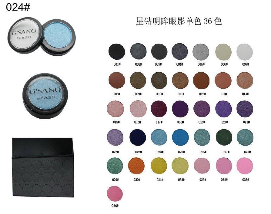 Name brand metallic pigment eyeshadow palette makeup cosmetics manufacturer with free shipping 12pcs/dzn.(Hong Kong)