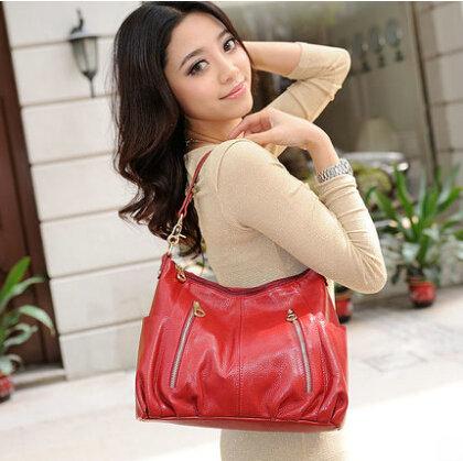 Фотография NEW Genuine Leather Female bag Han edition lady