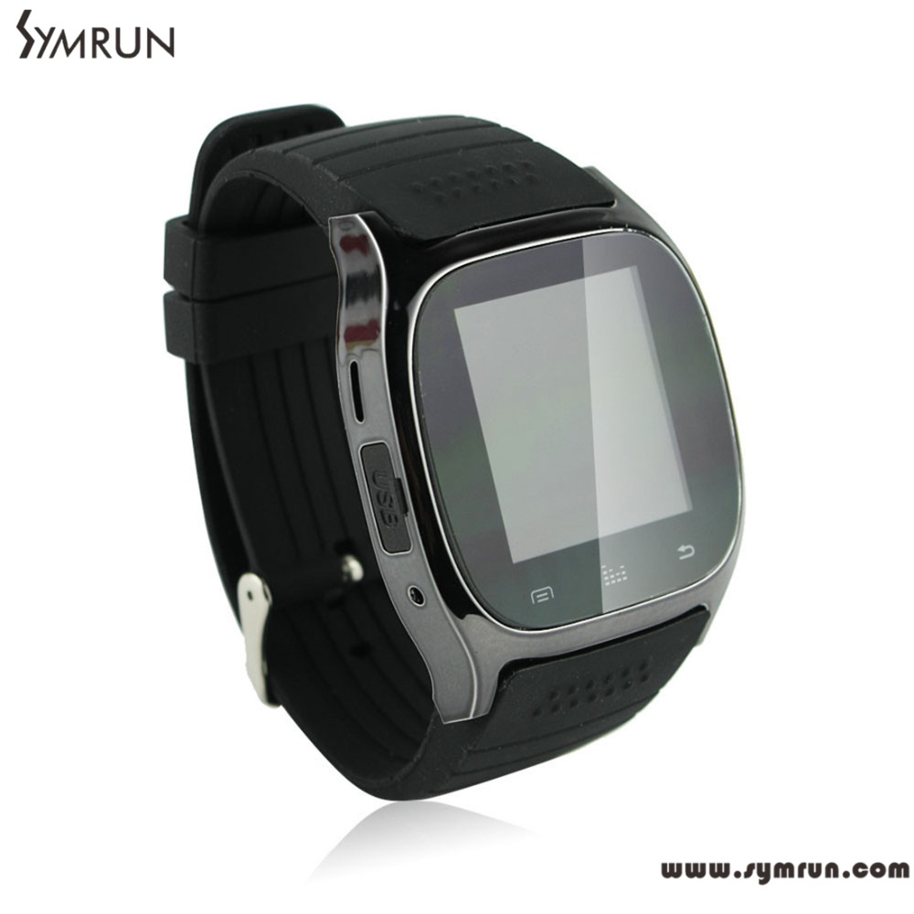 Symrun Smart Watch Android For Iphone 4S/5/5S/6 Samsung S4 Phones Bluetooth Smartwatch M26 Cheap Smart Watch(China (Mainland))