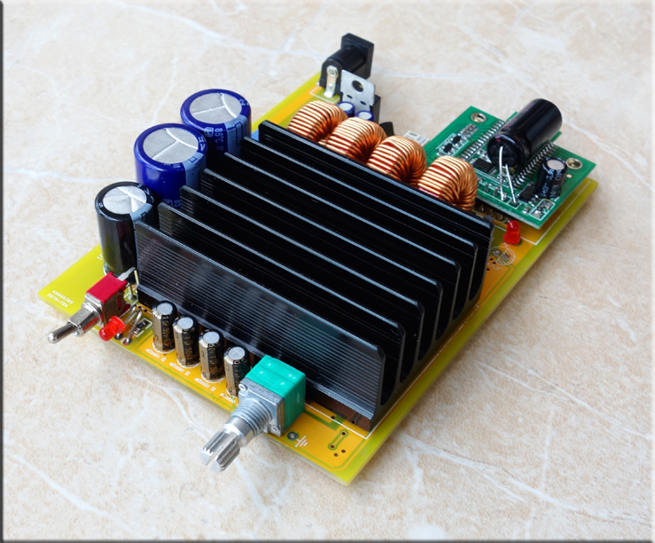 TDA7498E 160w+160w BTL Class-D audio amplifier bord 2.0 bluetooth digital stereo amplifier board ISSC latest bluetooth solutions(China (Mainland))