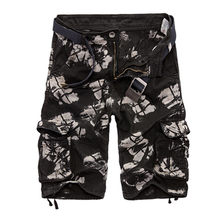 Shorts da carga Dos Homens Camuflagem Legal Venda Quente de Verão de Algodão Casuais Roupas Confortáveis Homens Camo Shorts Da Carga Dos Homens Calças Curtas Marca(China)