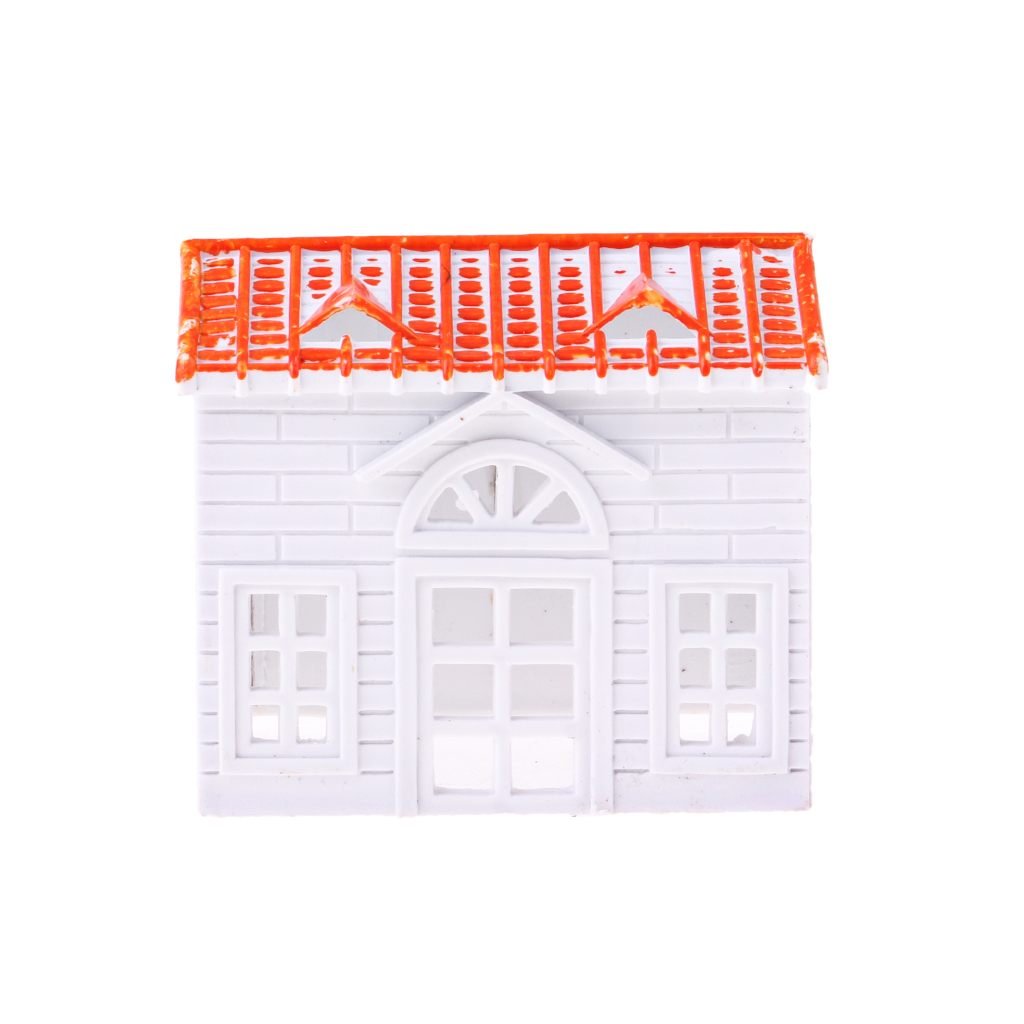 1 Piece Small House Villa Model DIY Building Sand Layout Scenery Materials Accessory DIY