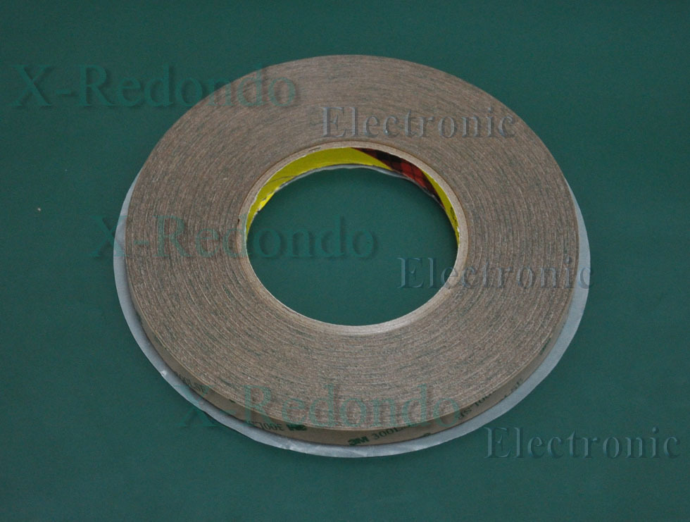 5 roll 10mm Original 3M 9495LE(300LSE) Double Sided tape, Transparent Super Strong Adhesion, for LCD LED screens adhesive(China (Mainland))