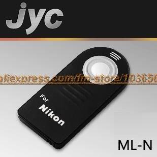 JYC IR remote control ML-N FOR Nikon D80, D70S, D70, D60, D50, D40, D40X, 8400, 8800, Pronea S,D3000,D5000,F75, F65, F55, N65(China (Mainland))