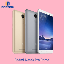 Orig Xiaomi Redmi Note 3 Pro Prime snapdragon 650 4050mAh 16ML 1080P 3G/32G 5.5″ screen hexa-core dual-sim card slot smart phone