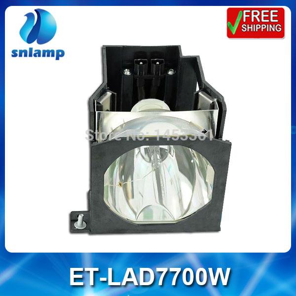 Фотография Replacement projector lamp bulb with housing  ET-LAD7700W  for PT-D7700 PT-D7700K PT-DW7000 PT-DW7000K  PT-D7000 ...