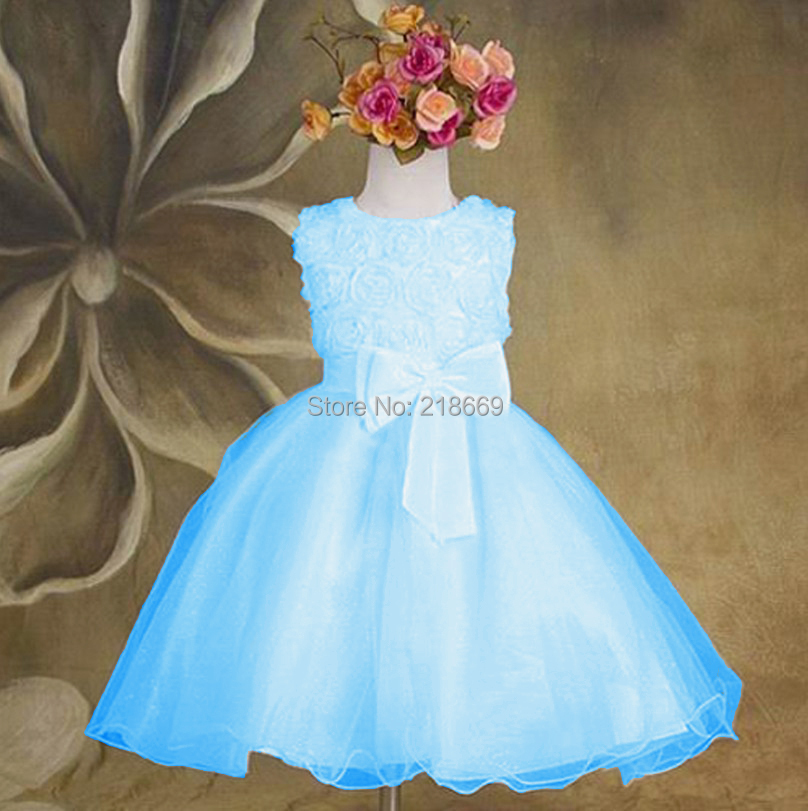 Girl Dress Birthday Party girls Christmas dress 2015 new summer baby lace flower Children's Apparel Formal dresses princess - Sweet Heart Baby store