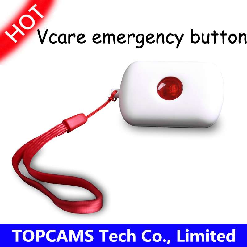 vacre 433mhz wireless button for GSM&WIFI vcare A kits home security alarm systems Press button activate alarm(China (Mainland))