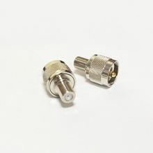 Увч вилочная часть вилка переключатель F женское джек RF коаксиальный адаптер конвертер прямой Nickelplated