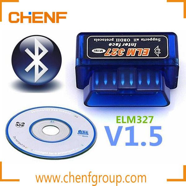 FREE SHIPPING!!! Super Mini Bluetooth USB V2.1 OBD2 Auto Motor Vehicle Car Scanner Bluetooth ELM 327 Diagnostic Scan Tool(China (Mainland))