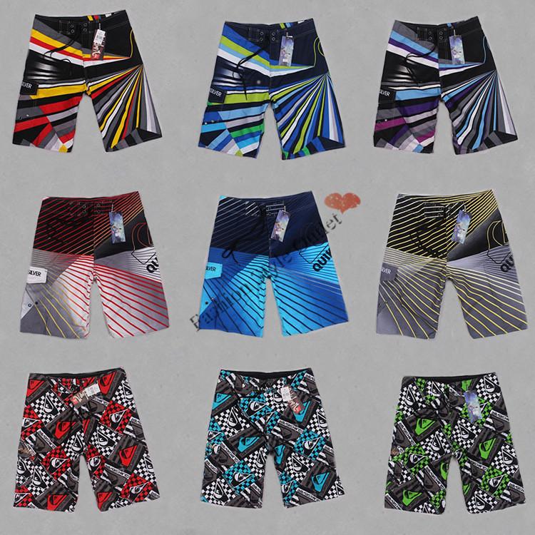 2014 Shorts Mens Brand Surf Board Bermuda masculina Outdoor Boardshorts Beach Swimwear Sunga Striped Sport New - Fashion Style Outlet store