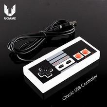 Hot Classic USB Controller Gaming Gamer JoyStick Joypad For NES Windows PC for MAC Computer Game Controller Gamepad(China (Mainland))