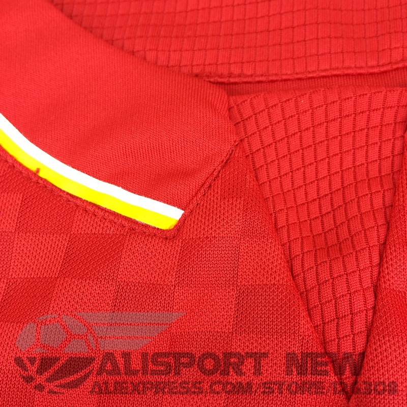 New 15 16 Liverpools Soccer Jersey The Reds Kit Home Football Shirt Top Quality Jerseys For 2015 2016 Season(China (Mainland))